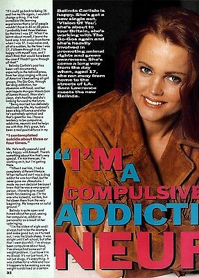 N190:2/6P32 BELINDA CARLISLE 2 PAGE ARTICLE WITH PICTURE(s)