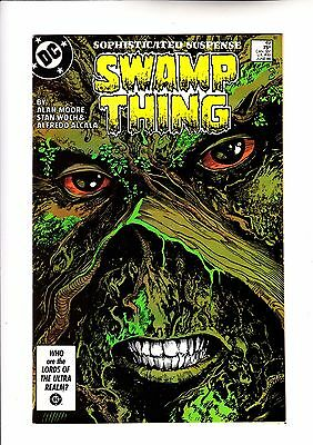 Swamp Thing 49 formally Saga of 1st cameo app of Justice League Dark