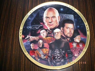 Star Trek - Next Generation Plate - The Best of Both Worlds