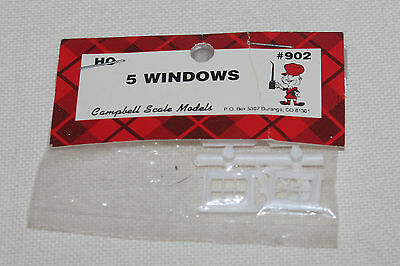 Campbell Scale Models HO 5 Windows 902