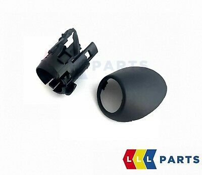 Bmw Genuine E53 X5 Rear Pdc Parking Air Sensor Outer Right O/S Cover + Support