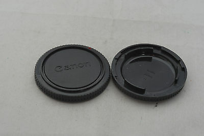 2 x Canon Film Camera FD Body Cap