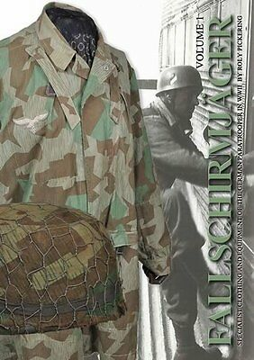 New Release! Fallschirmjager Helmets and Covers and Jumpsmocks By Roly Pickering