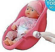 My First Baby Annabell Comfort Seat. Baby doll and seat included NEW