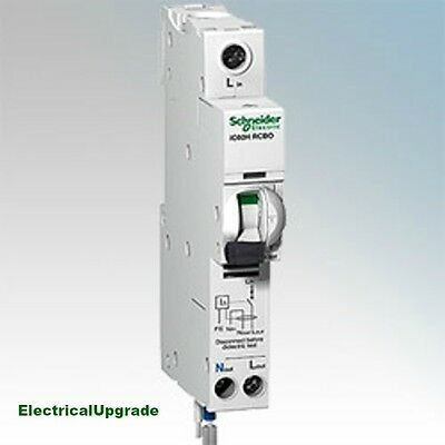 Schneider Electric Offer Circuit Beaker IC60H 1P+N RCBO A9D11825 (25AMP)( 30MA)
