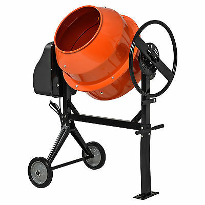 [in.tec] Cement Mixer 140 Litre Cement Mixer Cement Mixer Mortar Mixers