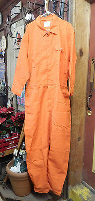 Nomex Orange Flame Resistant Size 64 Coveralls