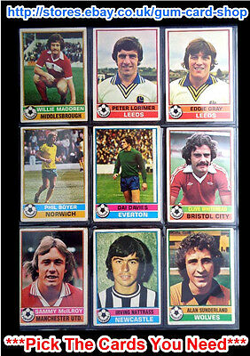 Topps 1977 Football Red Back Cards 201 To 300 (F) *Pick The Cards You Need*