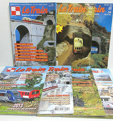 """ LE TRAIN "" Lot de 7 Numéros - Lot N° 4 = 31-51-166-270-271-286-305-"