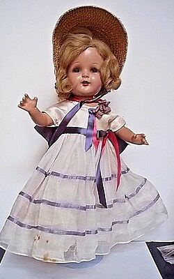 "Vintage 16"" Composition Arranbee NANCY Composition Doll Open Mouth BEAUTIFUL"