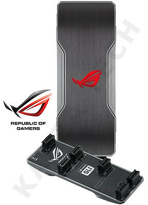 ASUS ROG Illuminated Enthusiast NVIDIA SLI Bridge 4-Way For PC Graphics Card