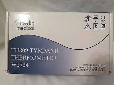 Merlin Medical TH809 Tympanic Thermometer W2734