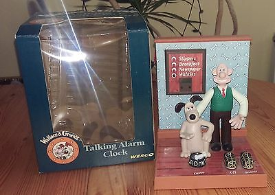 In Box ! Wallace and Gromit talking alarm clock - Collectable