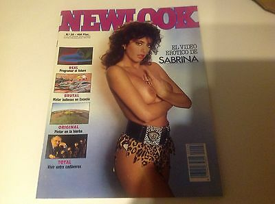 Magazine Newlook Sabrina Salerno Mars 88