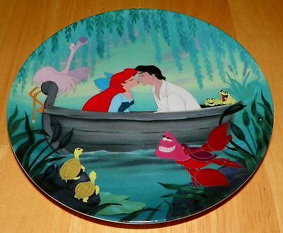 Disney Collector Plate The Little Mermaid Collection 6 of 8 Kiss the Girl