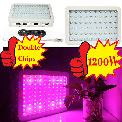 Hot Full Spectrum 216/600/1000/1200W LED Grow Light Veg Flower Indoor Plant Lamp