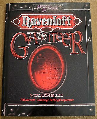Ravenloft Gazetteer Volume III - NEW D&D 3.5