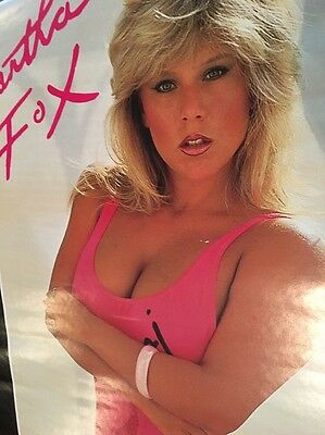 Samantha Fox Vintage Door Poster 1987 Partial Nudity / 62 Inches Tall / HTF