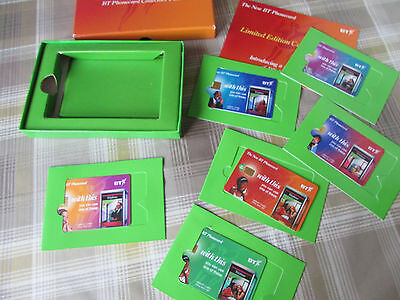 BT Phonecard Limited Edition Pack 1996 with 6 Cards