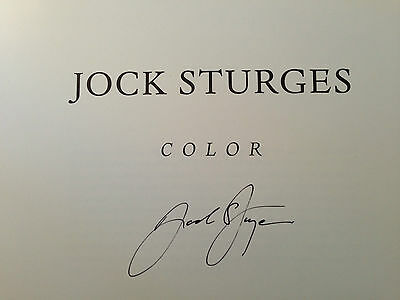 """NEW  Jock Sturges, Signed LTD. EDITION Catalog: """"Color""""- Direct from Publisher"""