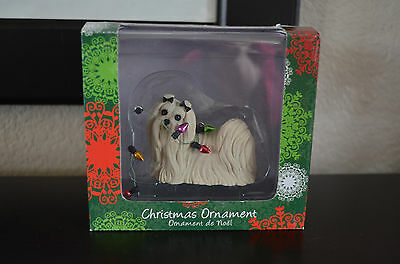 Sandicast Christmas Ornament - Maltese