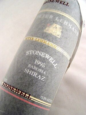 1995 PETER LEHMANN Stonewell Shiraz Isle of Wine