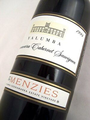 1994 YALUMBA The Menzies Cabernet Sauvignon Isle of Wine