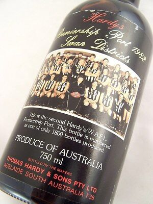 1982 HARDYS WAFL Premiership Tawny Port B Isle of Wine