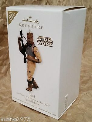 2011 Hallmark Ornament BOSSK *STAR WARS* Special Edition Limited Quantity