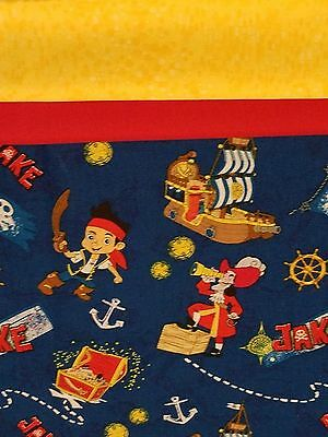 Embroidered Personalized STANDARD Pillowcase  Jake and the Neverland Pirates