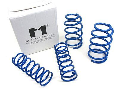 """Manzo Lowering Springs Coils Ford Mustang 1994-2004 V8 Lowers F: 1.7"""" R: 1.7"""""""