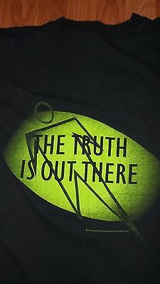 90's The X-FILES T-Shirt Dana Scully Fox Mulder 90's Vintage TV Show Movie