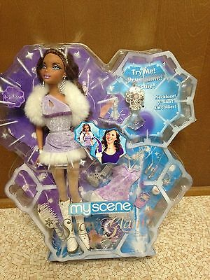 Barbie My Scene Madison Doll African American Snow Glam Rare