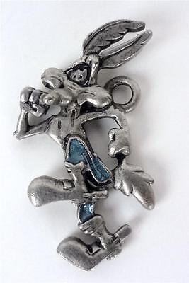 Looney Tunes WILE E. COYOTE Running in Blue Jeans Charm