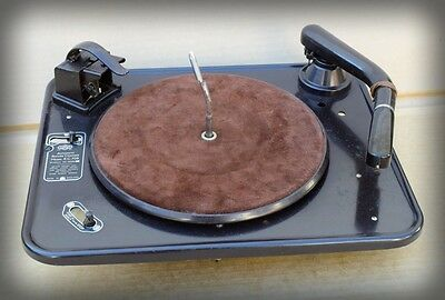 NOS Boxed 1940s Garrard RC 70B Turntable With Bakelite Tone Arm