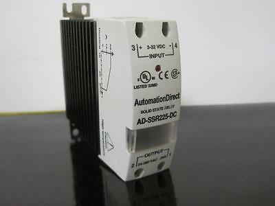 New Automation Direct Ad-Ssr225-Dc Solid State Relay Nos Nnb 24-280 Vac 25A