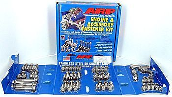 Arp Engine & Accessory Fastener Kit 534-9501 Chevy 350 400 W/headers