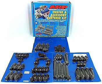 Arp Engine & Accessory Fastener Kit 545-9701 Chrysler 383 440 Black Oxide