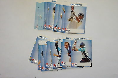 2009/10 Cricket New South Wales Blues set 22 cards