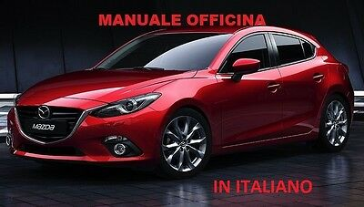 MAZDA 3 (2003/2009) Manuale Officina IN ITALIANO SU CD