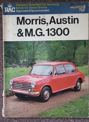 RAC Pearsons Service Manual for Morris Austin & MG 1300