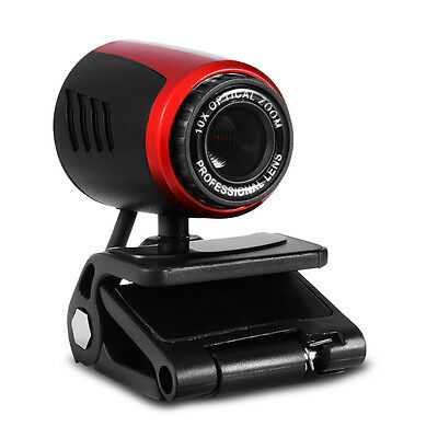 USB HD Webcam Web Cam Camera With MIC Stand for Laptop Desktop Computer AH228