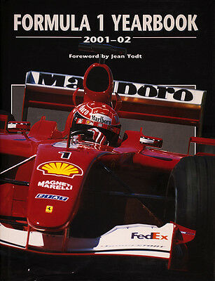 Formula 1 Yearbook 2001 - 02 - definitive analysis of the 2001 F1 season