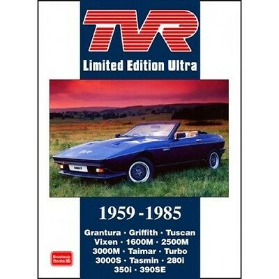 TVR Limited Edition Ultra 1959-1985 book paper car