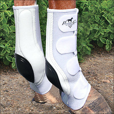 Professional Choice Tack Standard Ventech Slide Tec Skid Horse Leg Boots White
