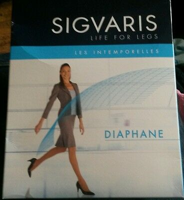 Sigvaris Diaphane for women  x-large normal natural colour Compression Stockings