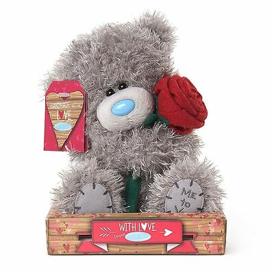 """Me to You 7"""" Rose & Plush Valentines Gift For Loved One - Tatty Teddy Bear"""