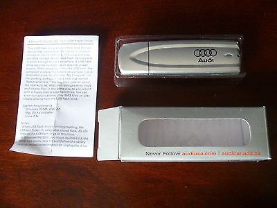 RARE Audi Usb Drive + Original Car Sales Catalog Brochure A3 2006 Promo HTF