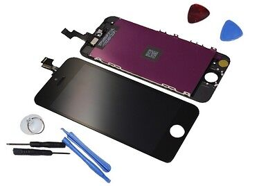 Apple iPhone 5S Display Original Retina LCD Touch Screen Rahmen Cover black OEM