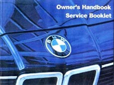 BMW 7 Series 728i to 745i 1983 to 86 handbook instruction manual book paper